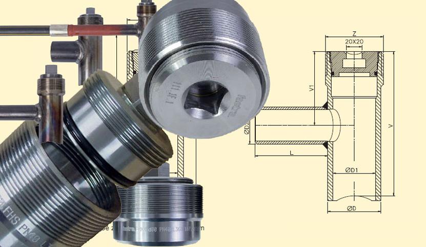 Компоненты для трубопроводов из стали
