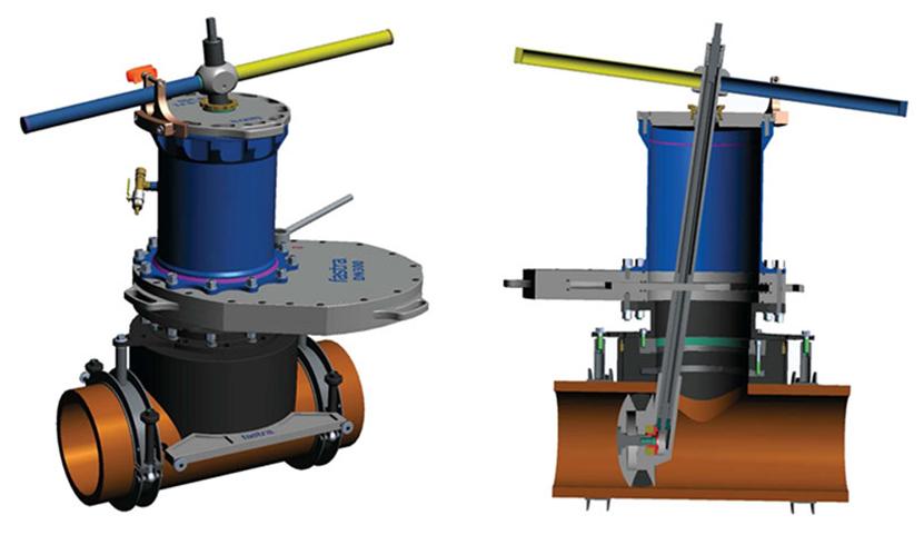 STOPL-S-F1 для трубопроводов из PE